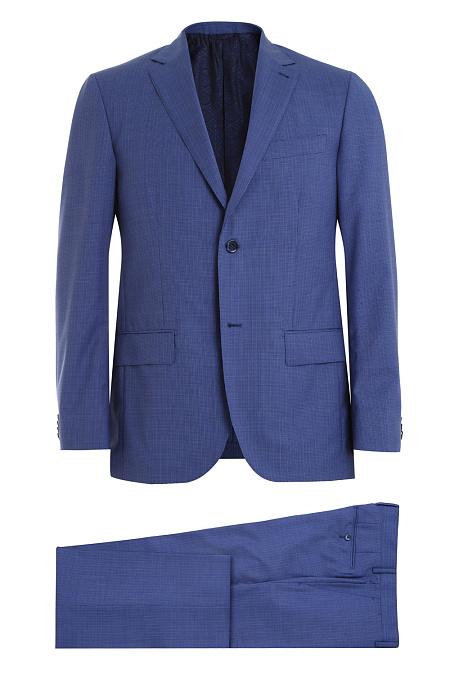 dd9d9221fbc9 Классический костюм синего цвета в клетку для мужчин MEUCCI (Италия ...