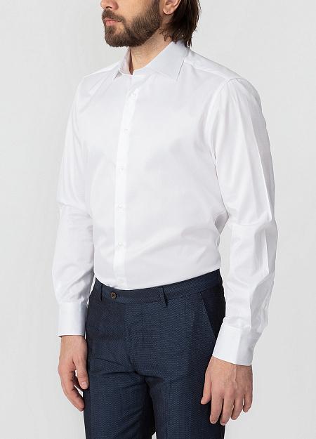 245ae96e4069603 Модная мужская классическая рубашка с микродизайном арт. SL 90202 R  BAS0193/141701 от Meucci