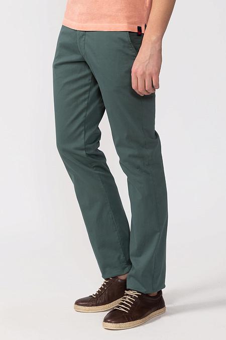 456f9519 Мужские брендовые зеленые брюки casual арт. BN0002BX TREKKING Meucci  (Италия) - фото.