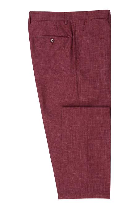 c74395dc44eb Мужские брюки из смеси шерсти, шелка и льна MEUCCI (Италия), арт. MI ...